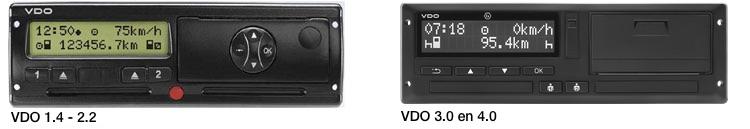 VDO DTCO 1381 Digitale tachograaf